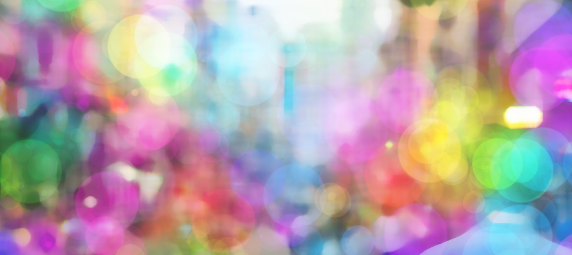 Artistic - Bokeh  Abstract Colors Colorful Circle Light Wallpaper