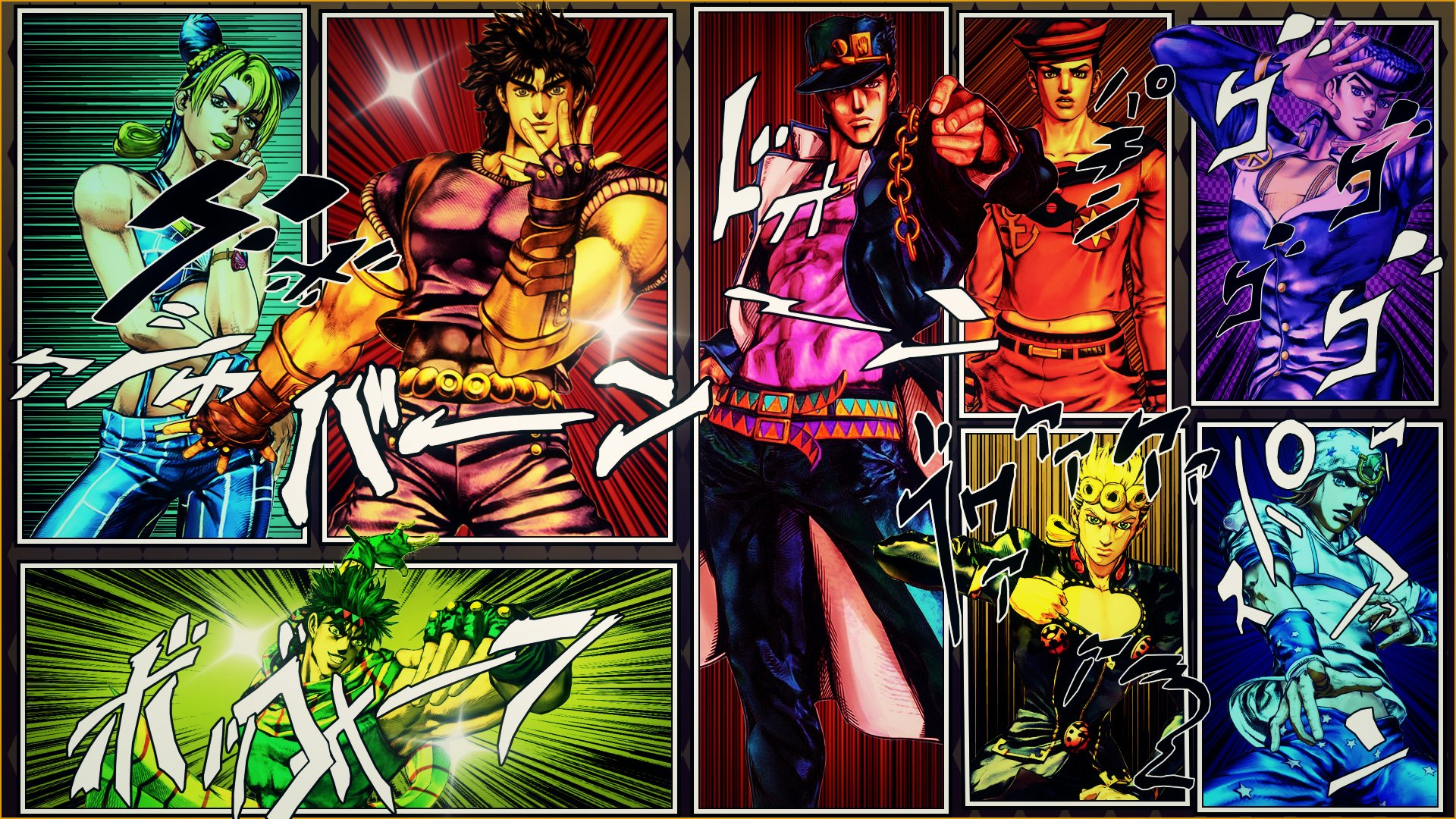 1062 Jojo's Bizarre Adventure HD Wallpapers | Background