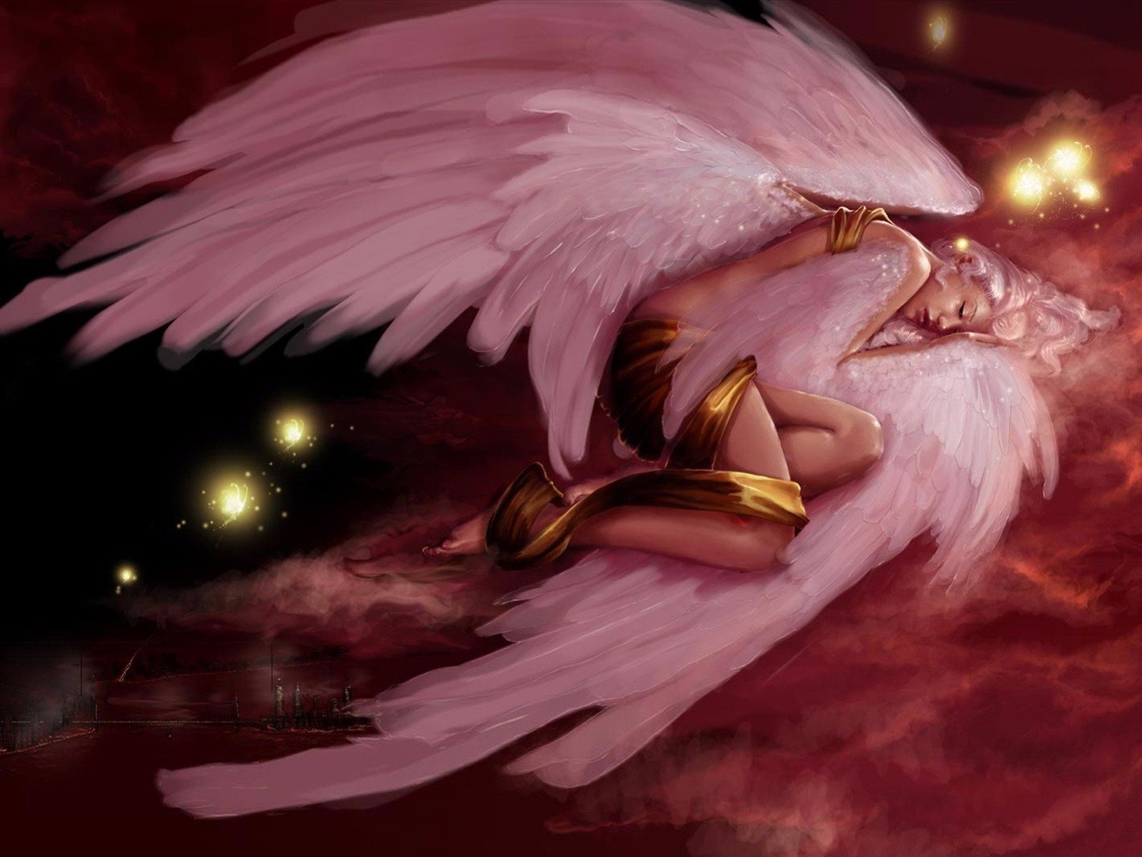 Angel Wings Wallpaper and Background