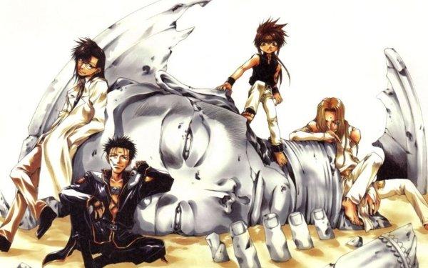 Anime Saiyuki Goku Kenren Konzen Douji Tenpou Gensui Saiyuki Gaiden Fondo de pantalla HD   Fondo de Escritorio