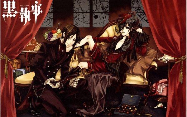 Anime Black Butler Gothic Dark HD Wallpaper | Background Image