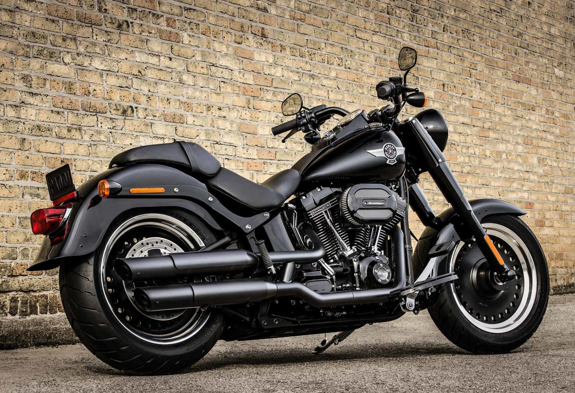 10 Harley Davidson Fat Boy Hd Wallpapers Background Images Wallpaper Abyss