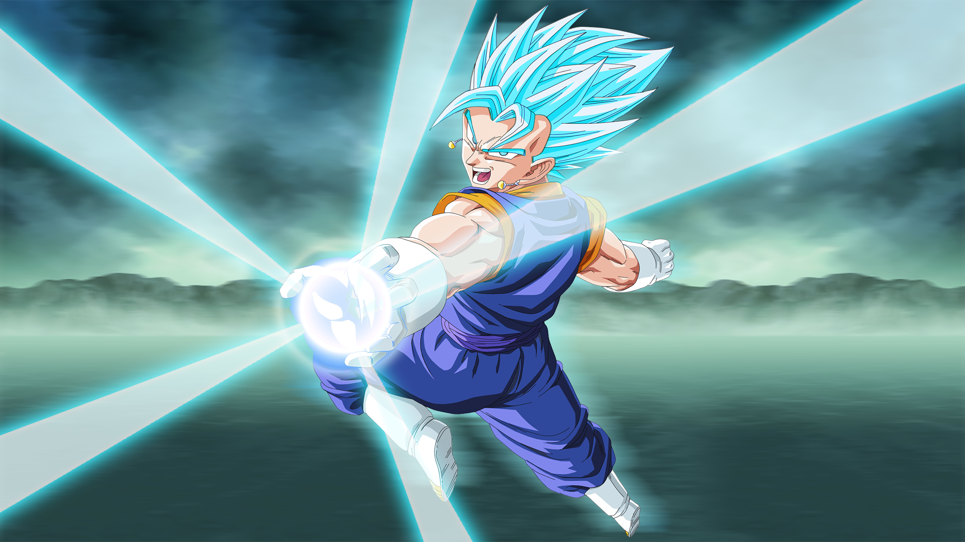 Anime - Dragon Ball Super  Vegito (Dragon Ball) SSGSS Vegito Dragon Ball Wallpaper