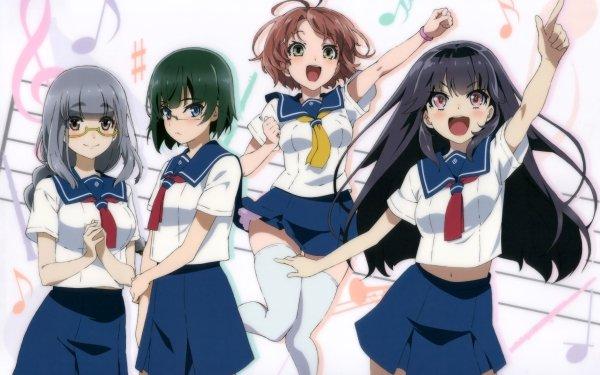 Anime Haruchika: Haruta to Chika wa Seishun Suru Akari Gotou Chika Homura Miyoko Narushima Naoko Serizawa Fondo de pantalla HD   Fondo de Escritorio