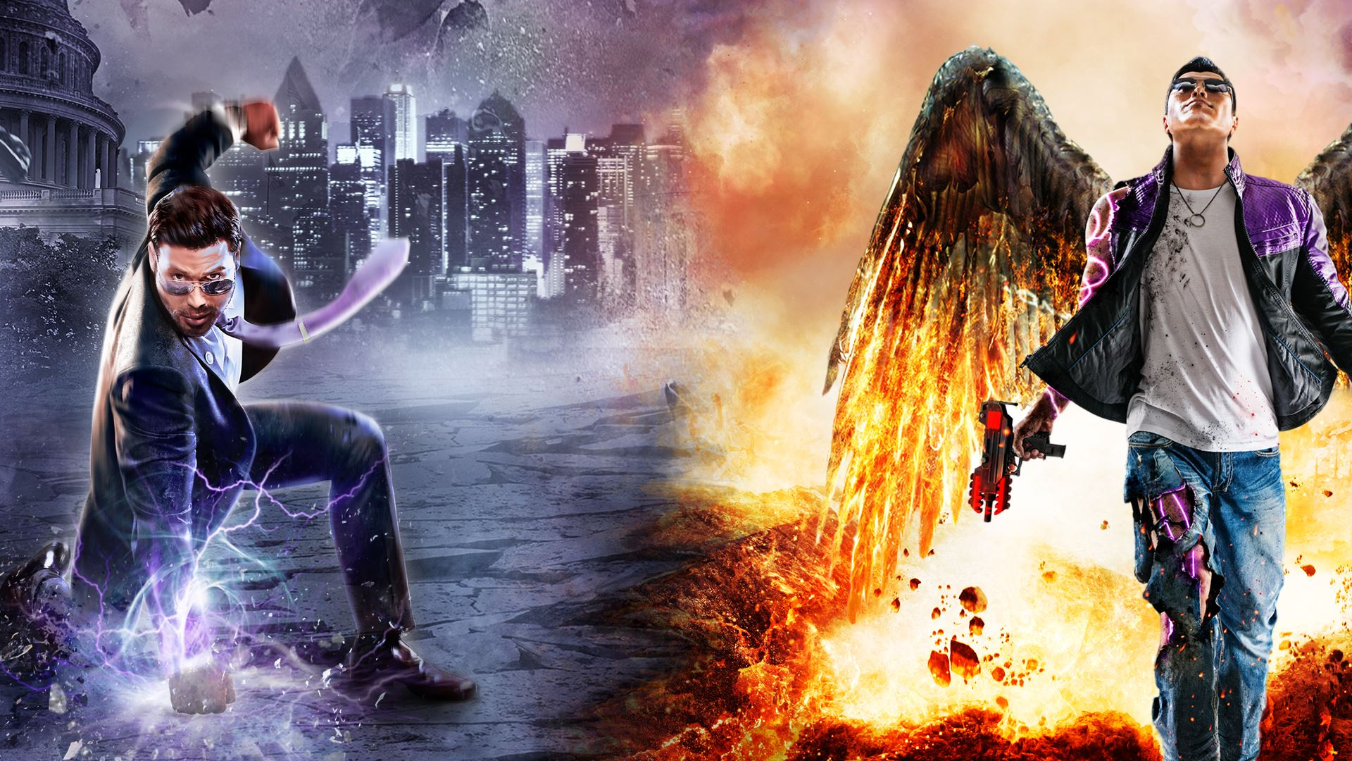 Saints Row Gat Out Of Hell Fondo De Pantalla Hd Fondo De