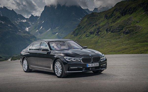 Vehicles BMW 7 Series BMW Black Car Luxury Car Car HD Wallpaper | Background Image
