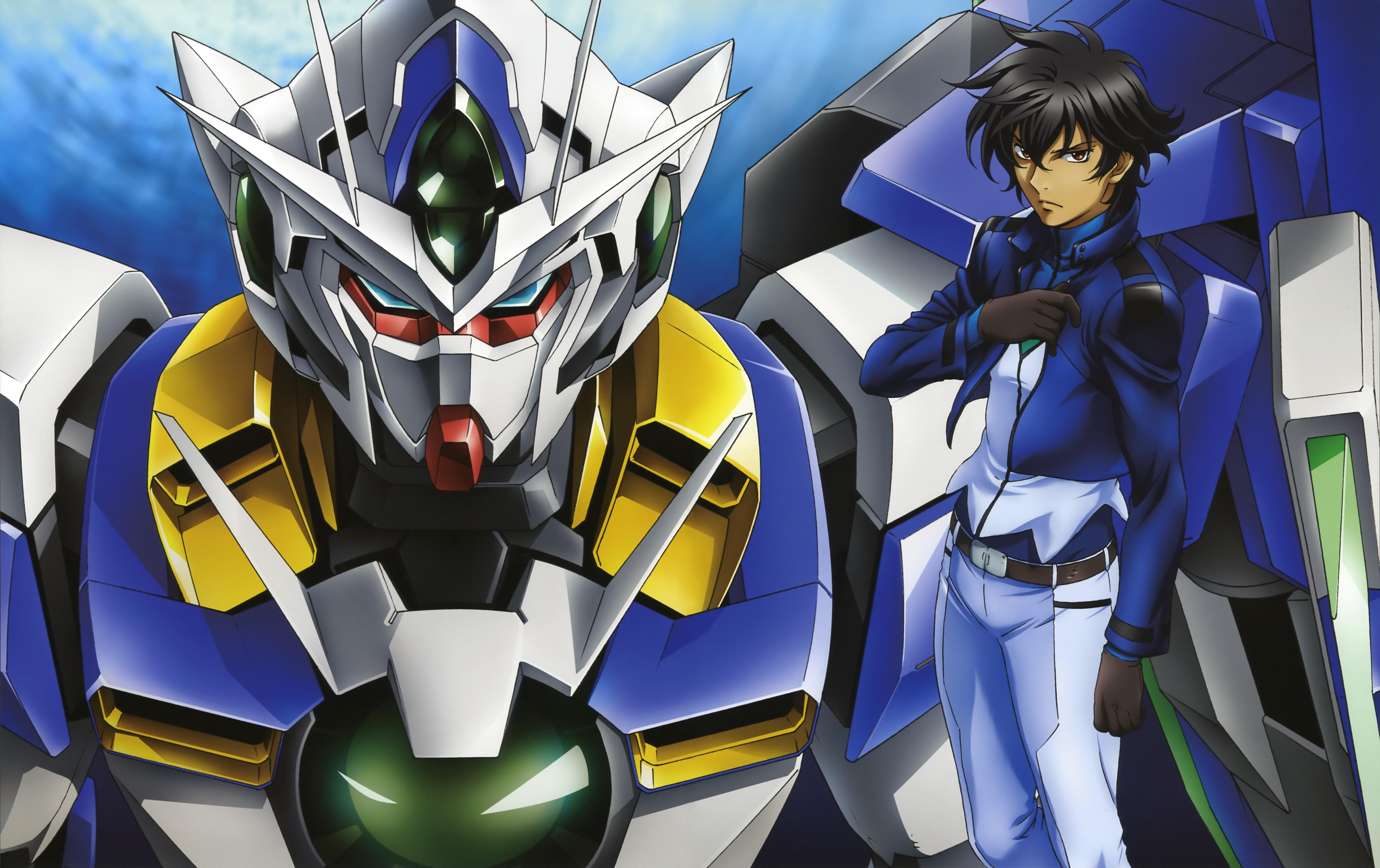Mobile Suit Gundam 00 5k Retina Ultra HD Wallpaper ...