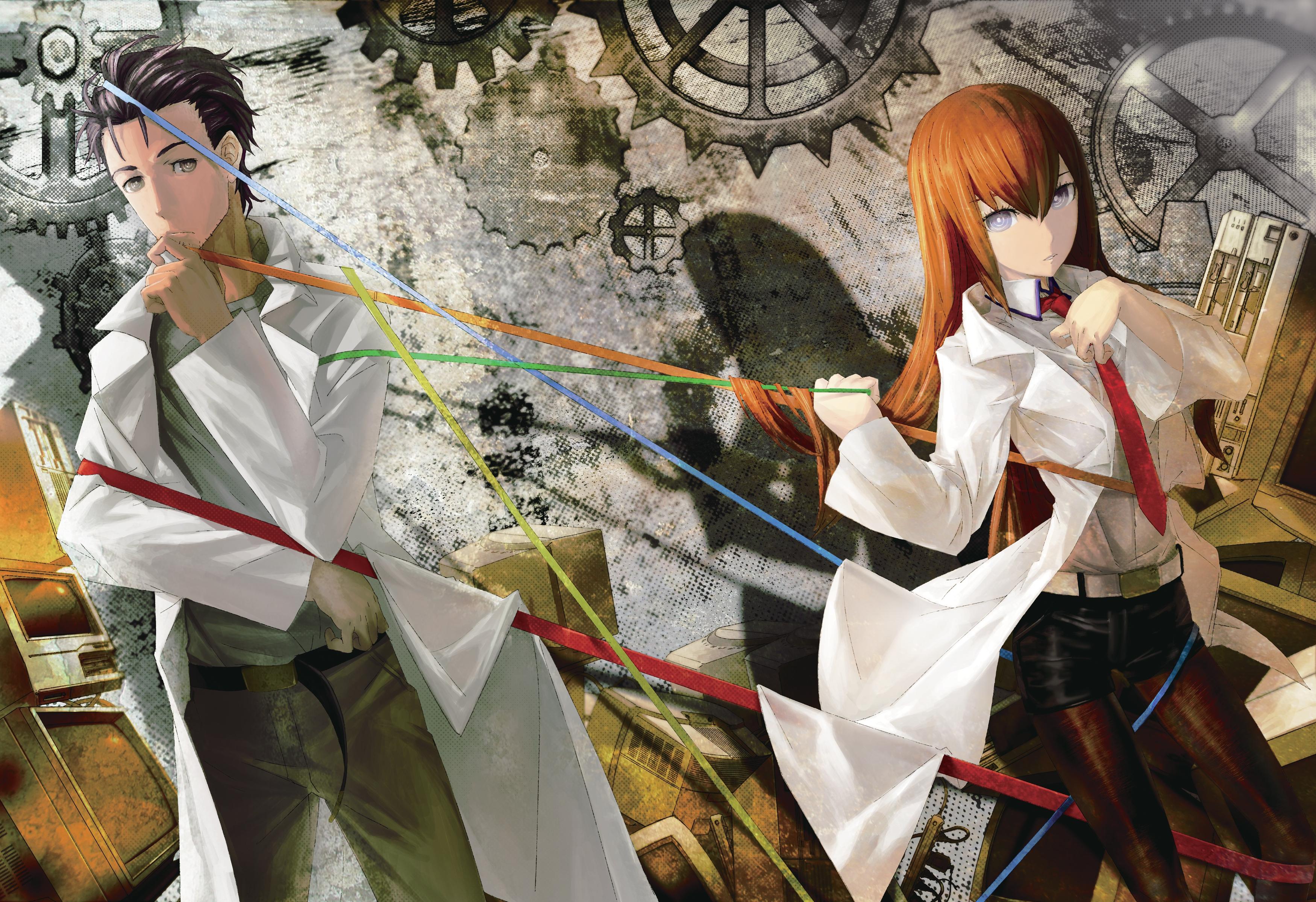 Makise & Kyouma Worldline HD Wallpaper | Background Image ...