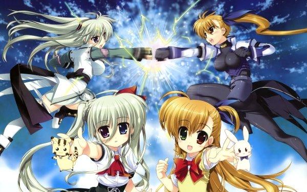 Anime ViVid Strike! Einhart Stratos Vivio HD Wallpaper | Background Image