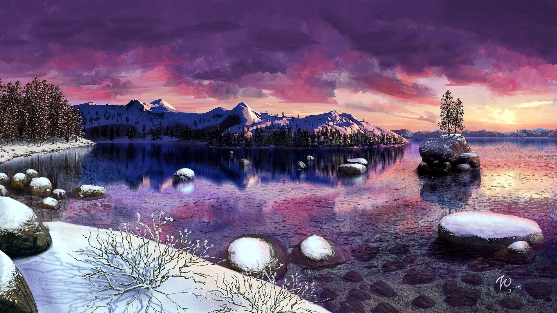 14 Lake Tahoe Hd Wallpapers Background Images Wallpaper