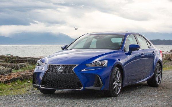 Véhicules Lexus IS Lexus Blue Car Voiture Luxury Car Fond d'écran HD | Arrière-Plan