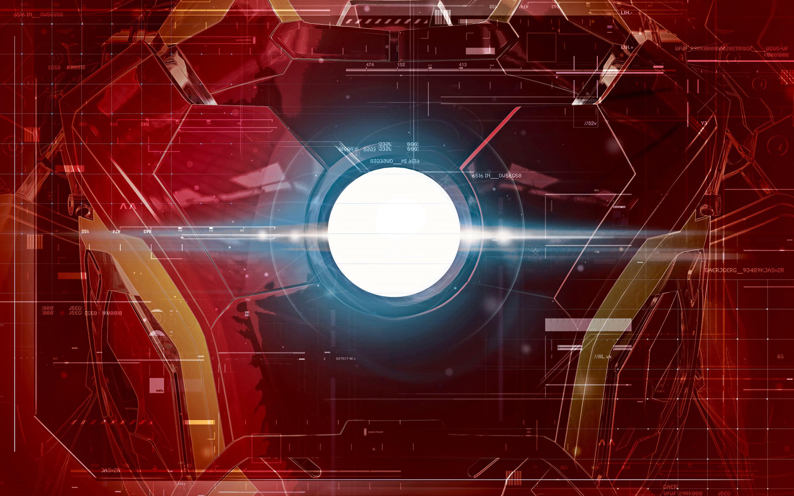 Iron man interface fondo de pantalla hd fondo de - Fondos de pantalla de iron man en 3d ...