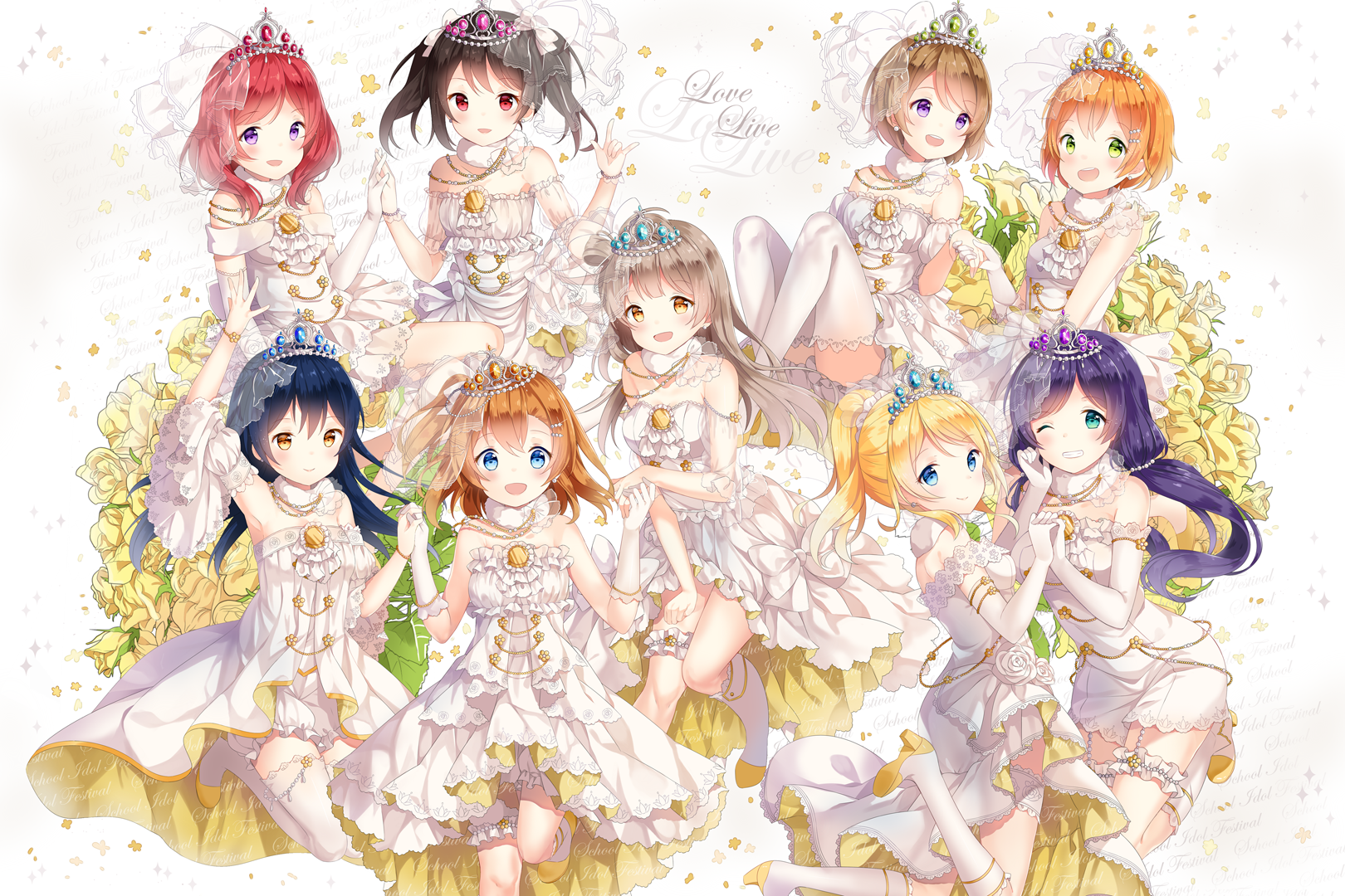 Love Live Wallpaper Desktop : Love Live! Fondo de Pantalla and Fondo de escritorio 1620x1080 ID:776799