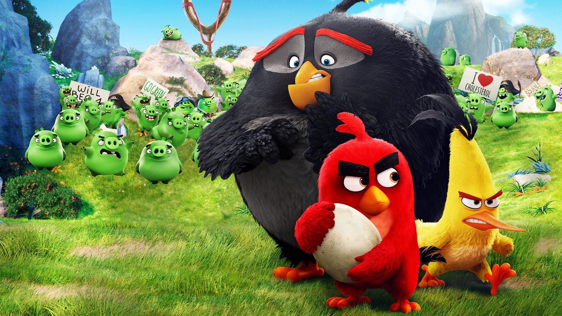 140 angry birds hd wallpapers | background images - wallpaper abyss