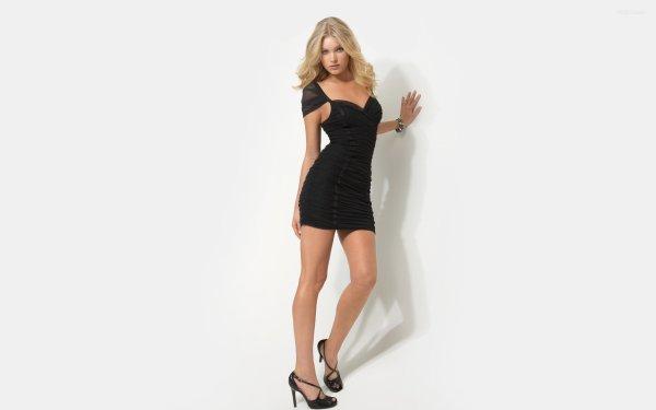 Celebrity Elsa Hosk Models Sweden HD Wallpaper   Background Image