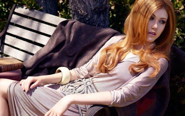 Celebrity Katherine Mcnamara Actresses United States Actress American Redhead Green Eyes HD Wallpaper   Background Image