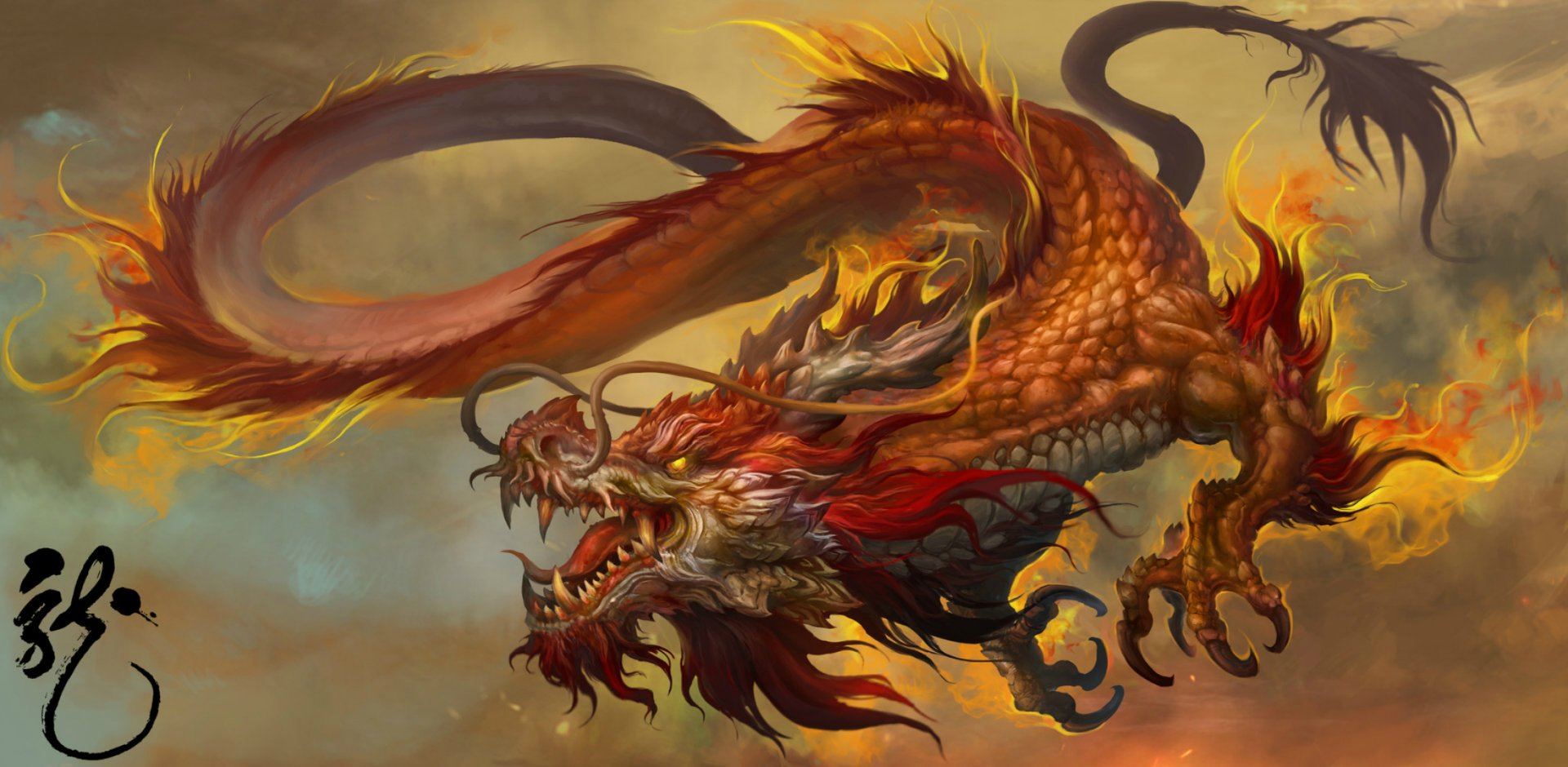 23 Chinese Dragon HD Wallpapers