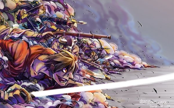 Anime Drifters HD Wallpaper   Background Image