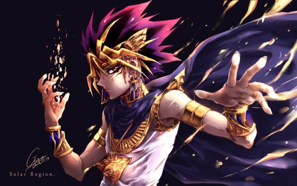 Anime Yu-Gi-Oh! Atem HD Wallpaper | Background Image