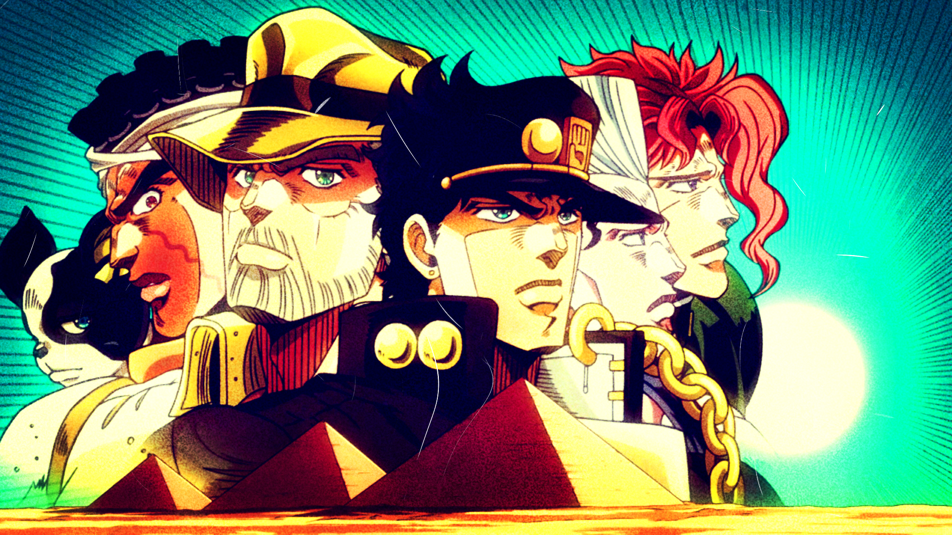 jojo s bizarre adventure hd wallpaper background image 1920x1080