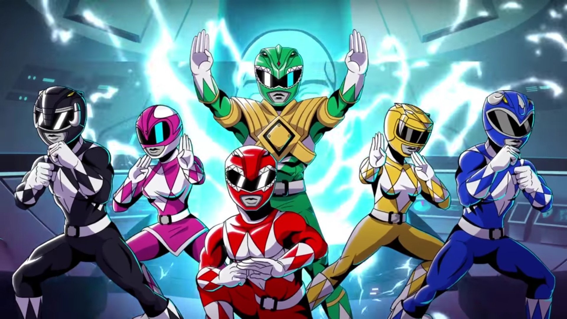 1 mighty morphin power rangers: mega battle hd wallpapers