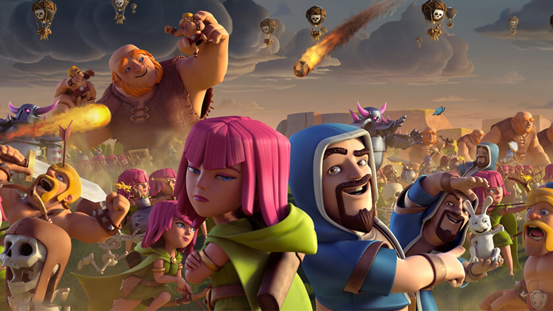 Clash Of Clans Hd Wallpaper Background Image 1920x1080