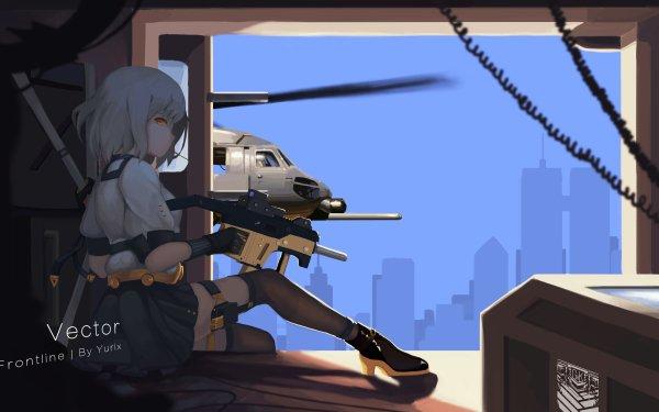 Video Game Girls Frontline Vector HD Wallpaper   Background Image
