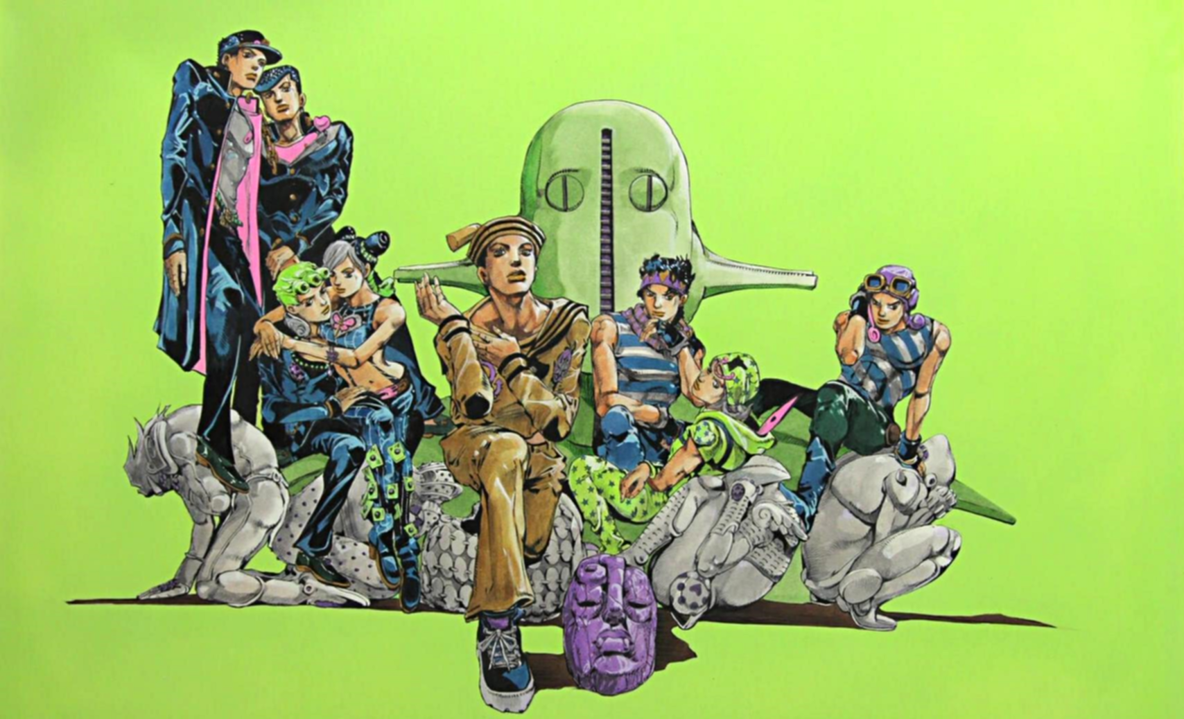 JoJo's Bizarre Adventure: Part 1-8 Wallpaper And