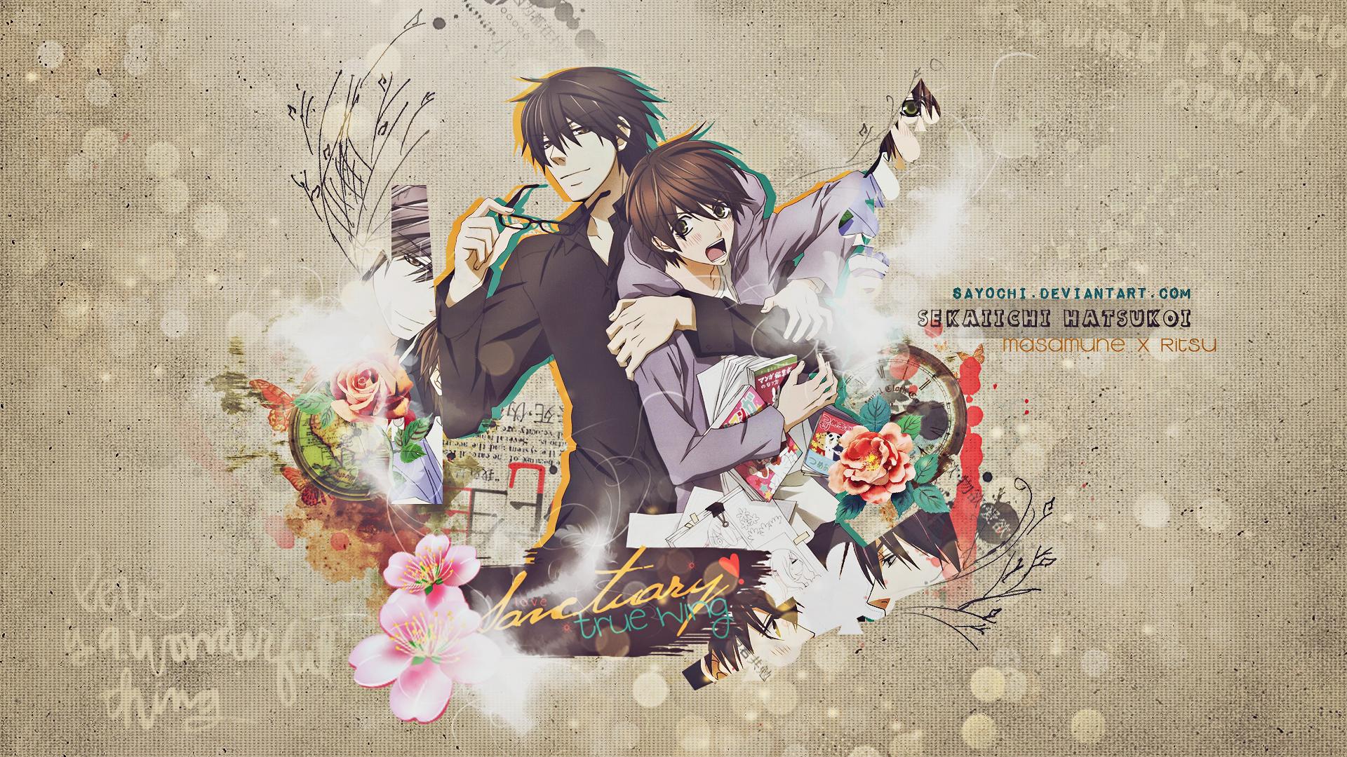 Sekaiichi Hatsukoi HD Wallpaper | Background Image ...