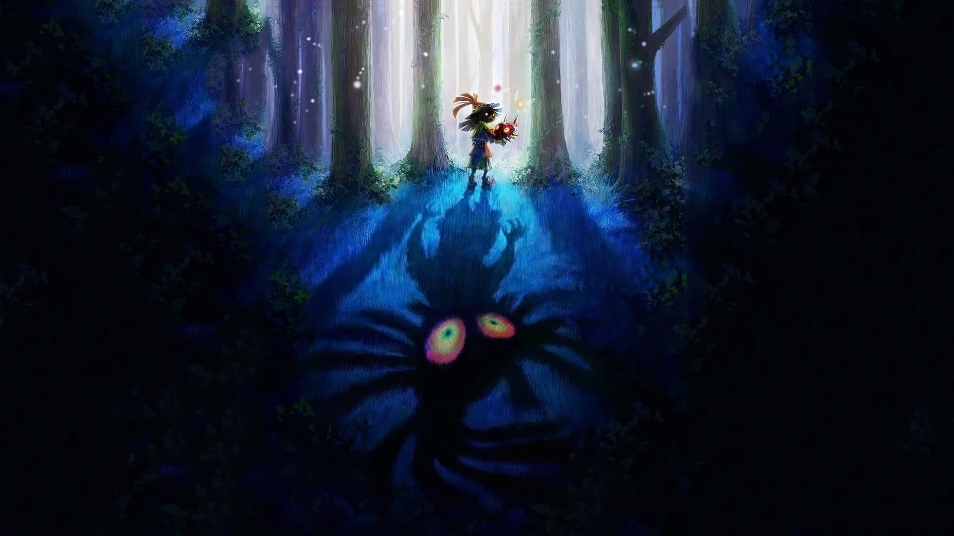 Majora S Mask Desktop Background: Majora HD Wallpaper