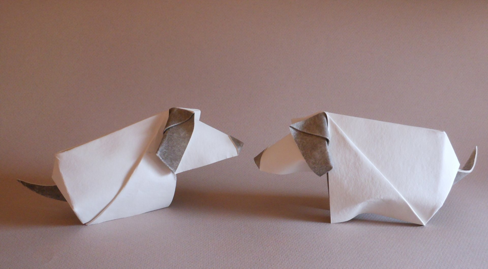 Man Made - Origami  Dog Wallpaper