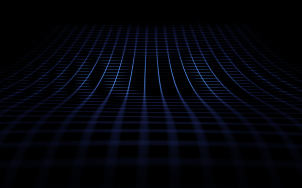 Abstract Blue Grid Lines HD Wallpaper | Background Image