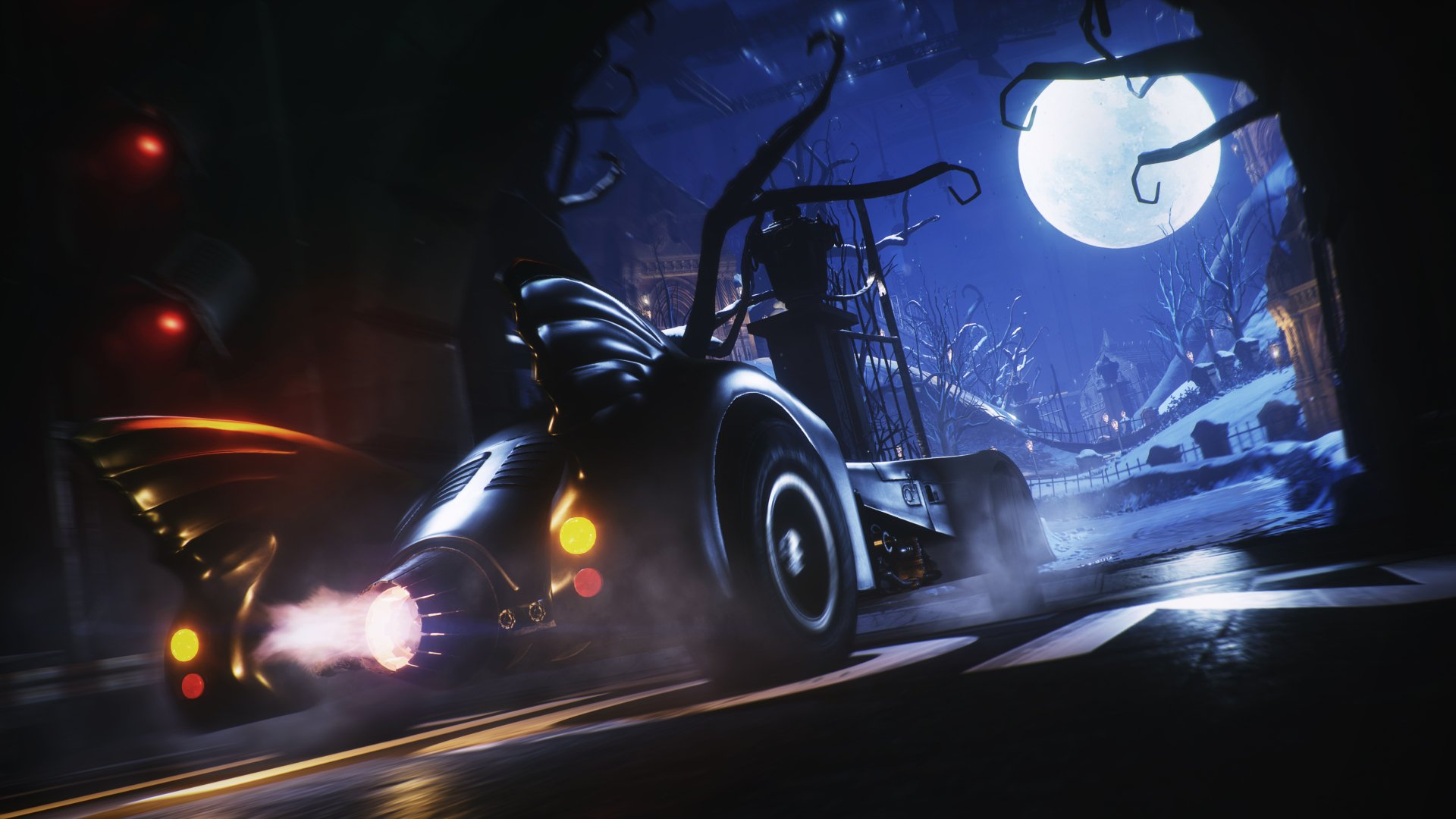 Video Game - Batman: Arkham Knight  Batmobile Tumbler Wallpaper