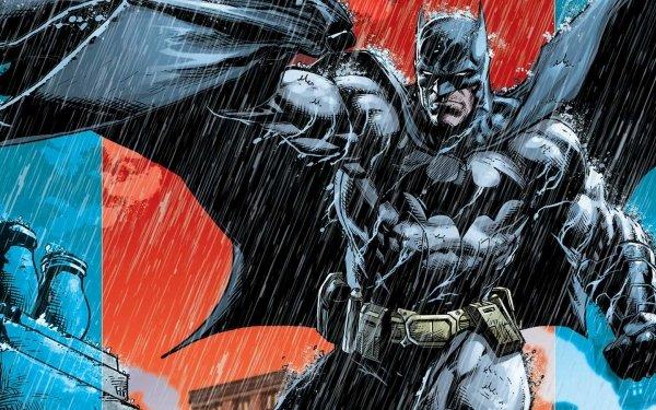 Comics Batman: Detective Comics Batman Rain DC Comics HD Wallpaper | Background Image