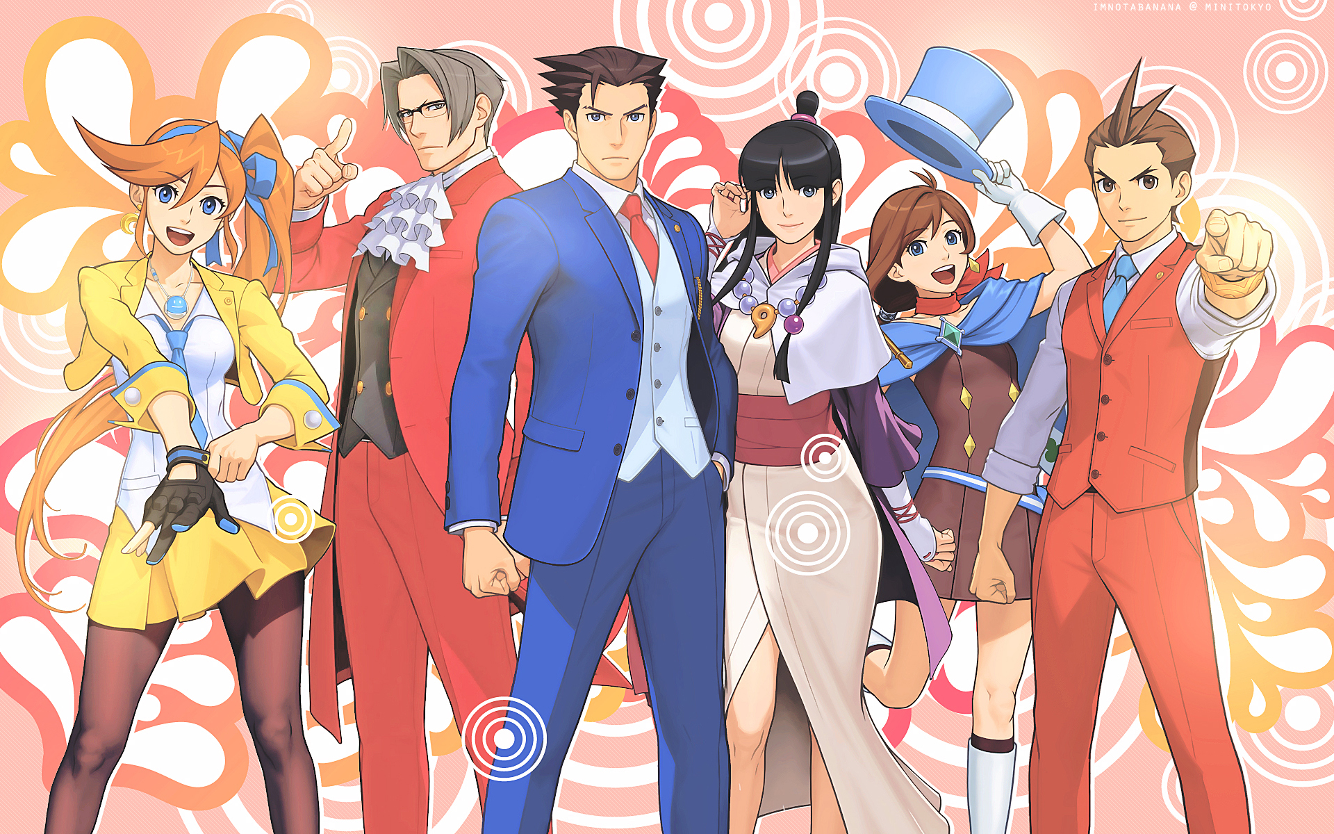 Ace Attorney Hd Wallpaper Background Image 1920x1200 Id
