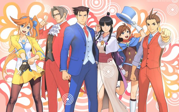 Anime Ace Attorney HD Wallpaper | Background Image