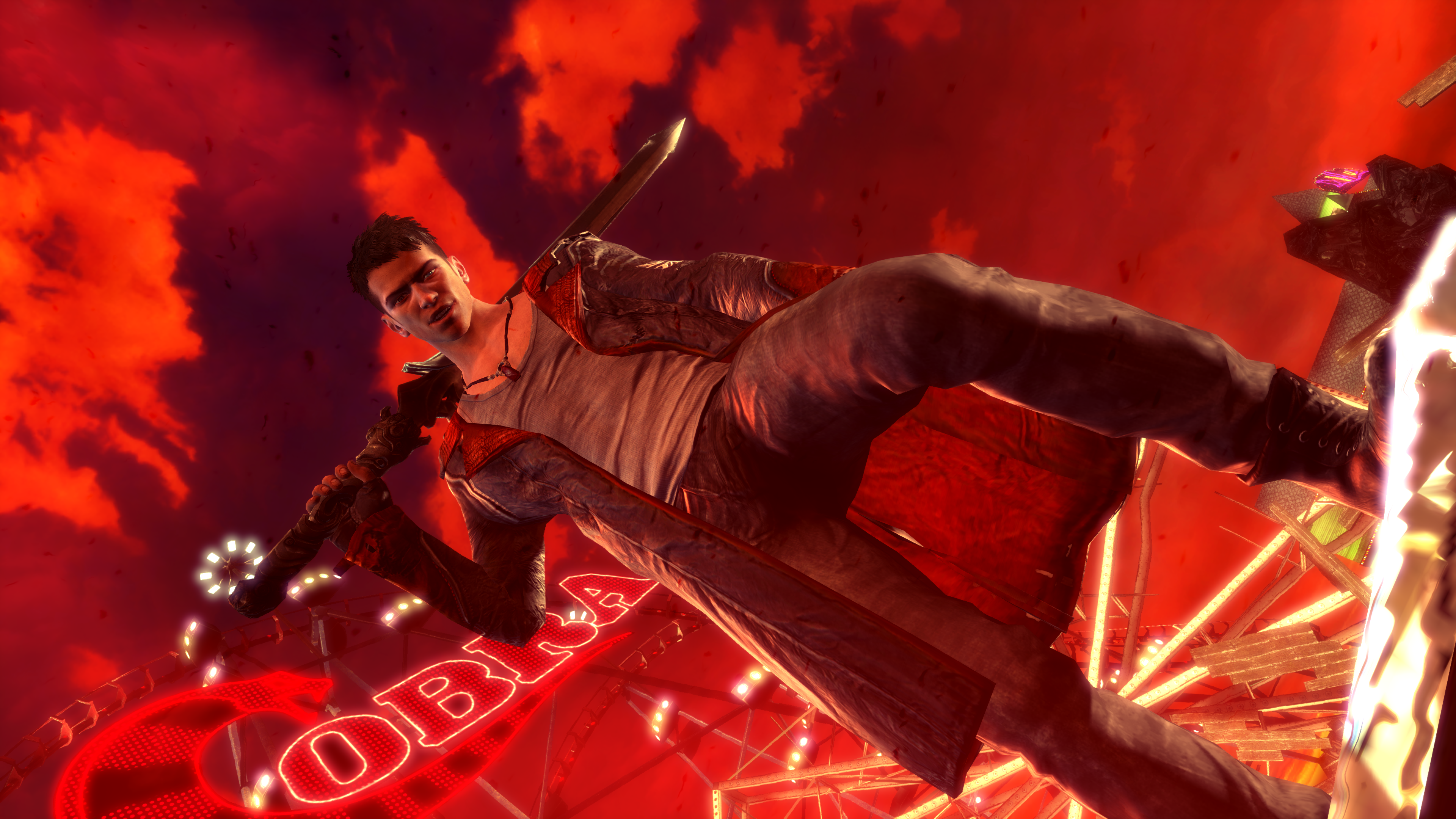 Devil May Cry 4k Ultra Hd Wallpaper Background Image 3840x2160
