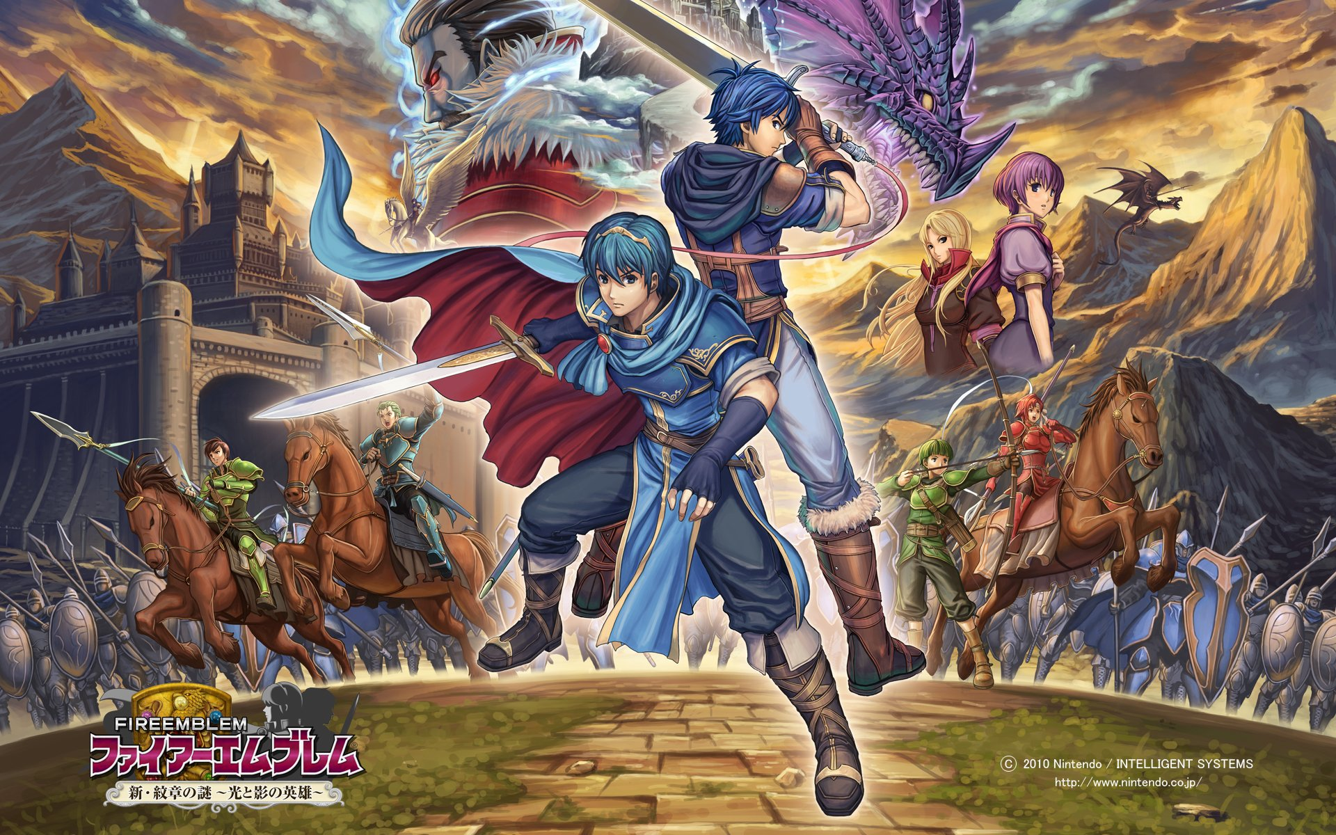 1 Fire Emblem Shadow Dragon And The Blade Of Light Hd Wallpapers