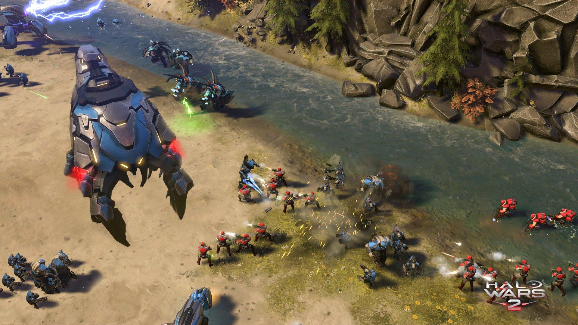 Video Oyunu - Halo Wars 2  Duvarkağıdı