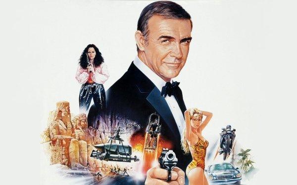 Movie Never Say Never Again Sean Connery James Bond Kim Basinger Barbara Carrera Fatima Blush HD Wallpaper | Background Image