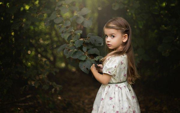 Fotografía Niño Little Girl Lindo Dress Fondo de pantalla HD | Fondo de Escritorio