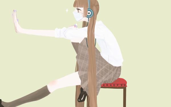 Anime Fukumenkei Noise Nino Arisugawa HD Wallpaper | Background Image