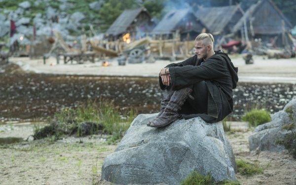 TV Show Vikings Bjorn Lothbrok HD Wallpaper | Background Image
