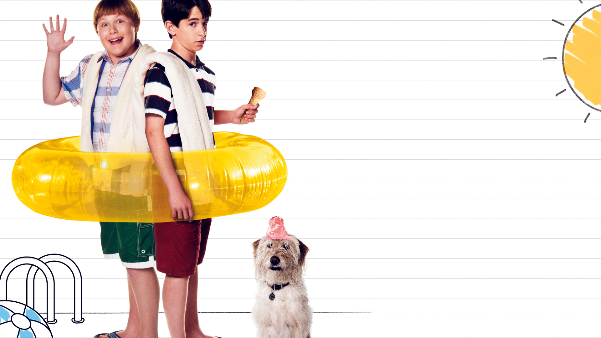 Diary Of A Wimpy Kid Dog Days Hd Wallpaper Background Image