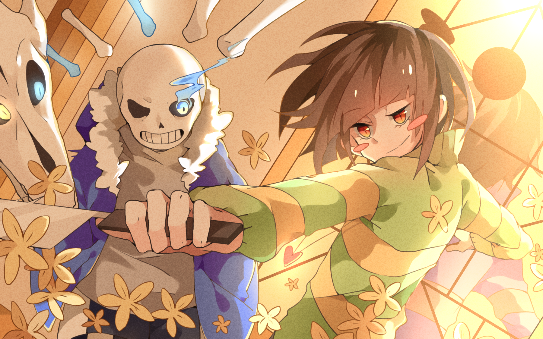 Undertale Wallpaper and Background Image | 1800x1125 | ID ...