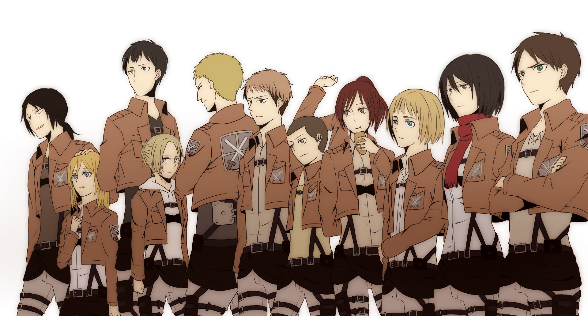 Attack On Titan Wallpaper And Background Image 1920x1032 Id 804986 Wallpaper Abyss