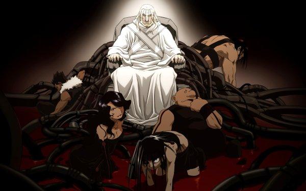 Anime FullMetal Alchemist Fullmetal Alchemist Father Lust Envy Gluttony Sloth Pride HD Wallpaper | Background Image