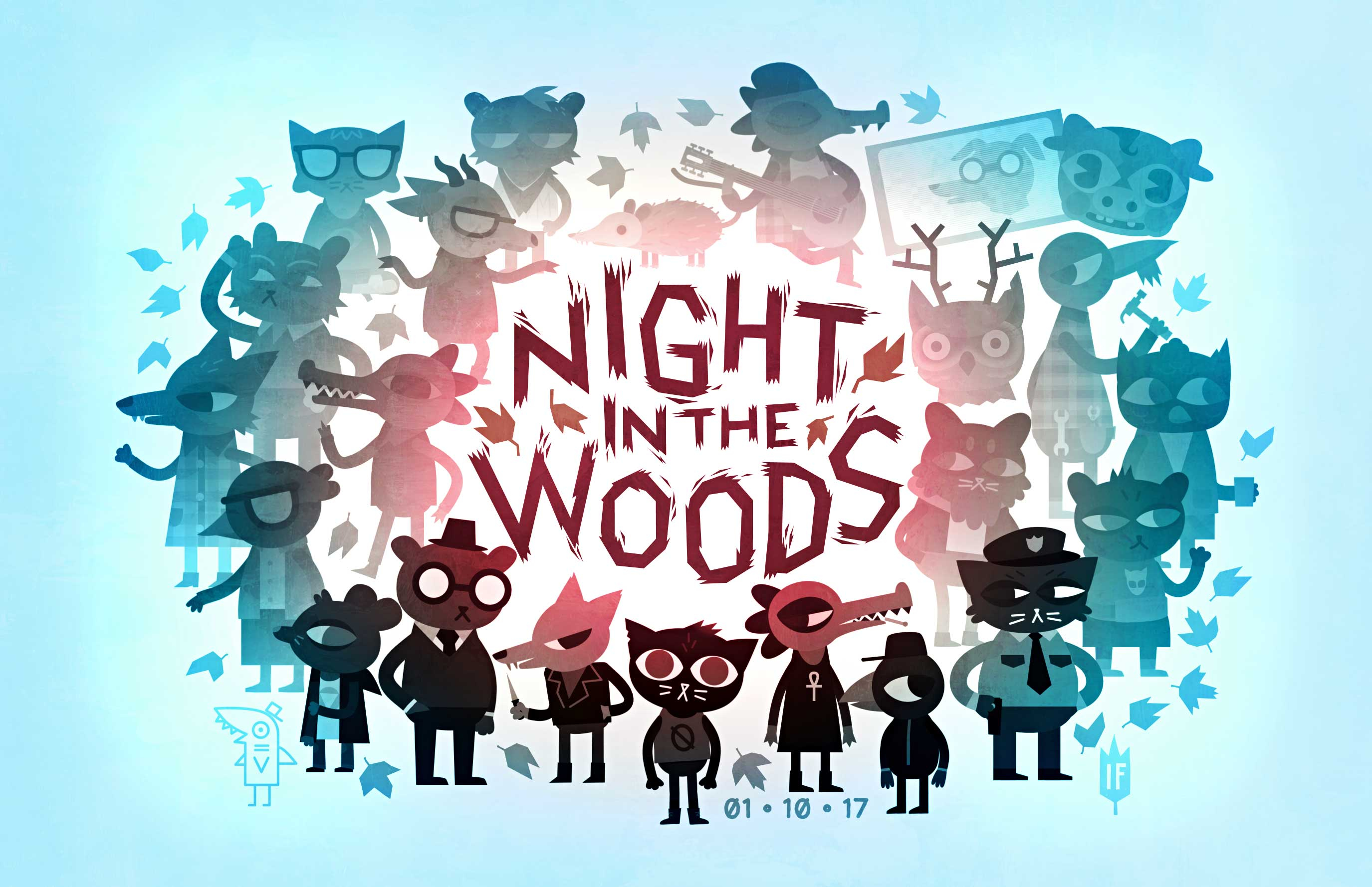 23 Night In The Woods Hd Wallpapers Background Images