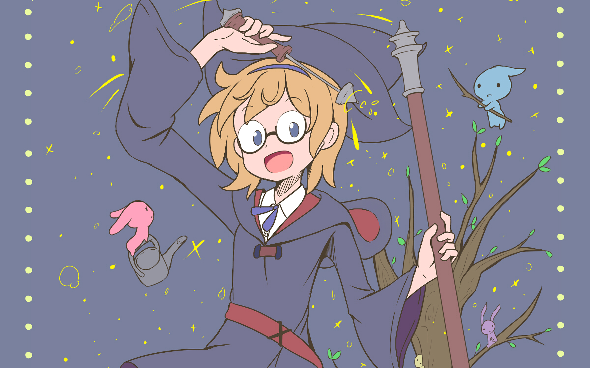 Little Witch Academia HD Wallpaper   Background Image ...