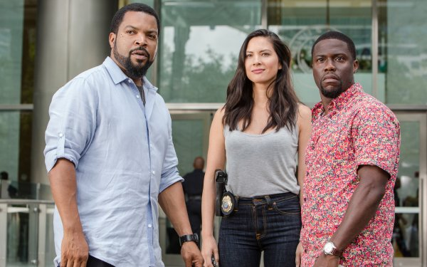 Movie Ride Along 2 Ice Cube Kevin Hart Cop Olivia Munn HD Wallpaper | Background Image